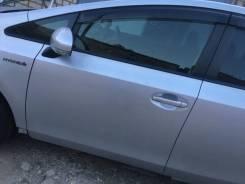Дверь левая передняя 2015год. Рестайл. Toyota Prius а, ZVW41, 2ZR.