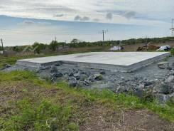 Земельный участок с монолитной плитой и коммуникациями 21 сотка. 2 102кв.м., собственность, электричество, вода