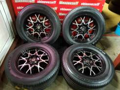 Weds R18 6x139,7 8J+20 и лето 265/60R18 Proxes Sport SUV Made in Japan