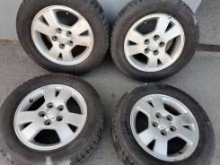 Отличные шины Yokohama 195/65 R15 на литье Тойота 5/114