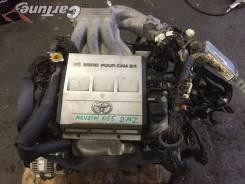Двигатель в сборе 2MZ-FE Mark II Qualis MCV21 [Cartune25] 055