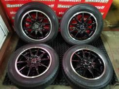 Ковка Lehrmeister LM Sport R16 4x100 и лето 195/65R16 Dunlop EC300+