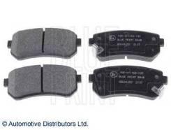Колодки тормозные дисковые Hyundai: Accent III 1.4 GL, 1.5 CRDi GLS, 1.6 GLS 05 -, Accent седан 1.4 GL, 1.5 CRDi GLS, 1 Blue Print ADG04282