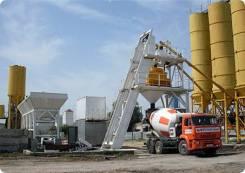 CA-Long. Цементобетонный завод из Китая, 126 000куб. см. Под заказ