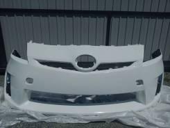 Бампер передний Toyota Prius ZVW30 цвет 040