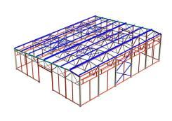Изготовление и монтаж металлических конструкций, имеется б/у прокат.