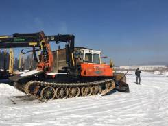 АЗСМ Прогресс МСН-10. Трактор трелёвщик с манипулятором , 16 500кг.