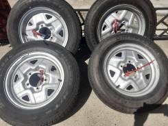 Bridgestone Dueler H/T. летние, 2008 год, б/у, износ до 5%