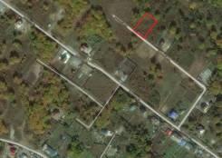 Участок для строительства. 1 500кв.м., собственность. План (чертёж, схема) участка
