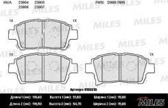 Колодки тормозные (смесь Semi-Metallic) передние (Toyota Corolla/Prius/Yaris 1.0-1.6 99-) (без датчика) (TRW GDB3317) E100210