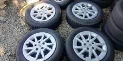 """Колёса оригинальный Тойота Prius@ 205/60R16 с минимальным износом. 6.5x16"""" 5x114.30 ET39 ЦО 60,1мм."""