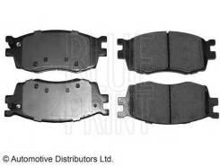 Колодки тормозные дисковые Hyundai: Accent III 1.4 GL, 1.5 CRDi GLS, 1.6 GLS 05 -, Accent седан 1.4 GL, 1.5 CRDi GLS, 1 Blue Print ADG04279