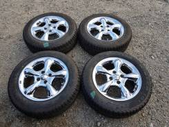 "Зимние колёса хромированный Work 185/65R15. 6.5x15"" 4x100.00 ET35 ЦО 73,1мм."