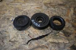 Муфта компрессора кондиционера Kia Sorento 2002 - 2011 1 Поколение D4CB