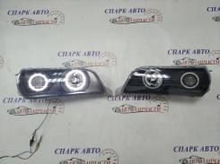 Фары Toyota Chaser 100 темные, тюнинг с габаритами