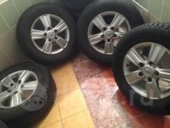 Зима шипы! Оригинальные колёса на Ленд Крузер 200 Япония