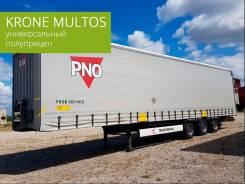 Krone SD. Полуприцеп штора Krone Mega Multos 2017 - аренда с правом выкупа, 41 000кг.