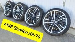 """225-35-19, ковка AME Shallen XR75, в наличии. 7.5x19"""" 5x100.00 ET43 ЦО 73,1мм."""