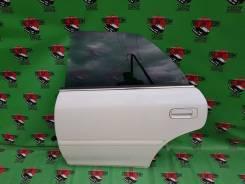 Дверь боковая левая задняя на Chaser GX100 JZX100 цвет 047
