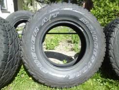 Bridgestone Dueler A/T 001. грязь at, 2017 год, б/у, износ 10%