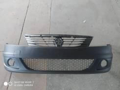 Бампер Renault Logan 10-14 г. в. под туманки