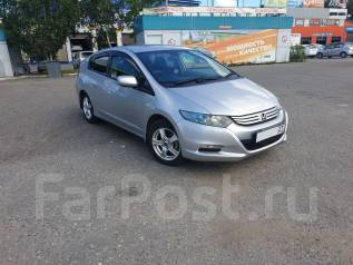 Honda Insight. Без водителя