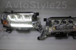 Линза фары. Toyota Land Cruiser, GRJ200, URJ200, URJ202, URJ202W, VDJ200 1GRFE, 1URFE, 1VDFTV, 3URFE