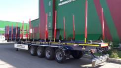 Steelbear. Полуприцеп - сортиментовоз усиленный 16,5 м 4-ый односкат, 45 000кг. Под заказ