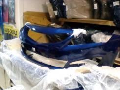 Бампер hyundai solaris с 14-17 г синий zd6