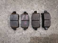 Колодки тормозные передние Toyota Corolla/Fielder/Spacio ZZE122/NZE124