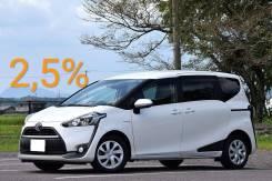Toyota Sienta. Без водителя