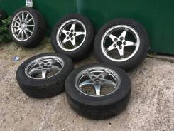 Оригинальные диски Toyota + Резина Dunlop R16 Б/п по РФ