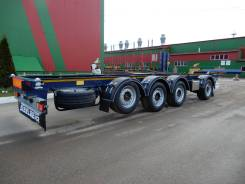 Steelbear. Полуприцеп контейнеровоз 4-осный под 40 футовый контейнер , 42 300кг.
