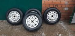 Продам комплект колес лето на докат Brigestone 165 R13 LN 4*100 R13