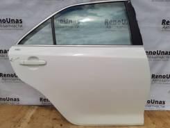 Дверь задняя правая Toyota Camry 50 55 в сборе белая