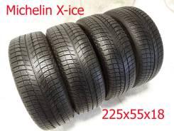 Michelin X-Ice. зимние, без шипов, 2014 год, б/у, износ 5%
