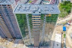 2-комнатная, улица Зеленый бульвар 21. 64, 71 микрорайоны, агентство, 58,7кв.м. Дом снаружи
