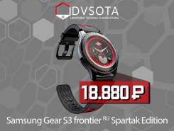 Samsung Gear S3 Frontier. GPS, NFC, IP68. Под заказ