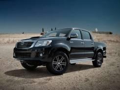 Toyota Hilux. ПТС Toyota HIlux 2010, чёрный 2,5