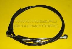 Трос МКПП переключения скоростей /HD72 (L=2580) (черный) (OEM)