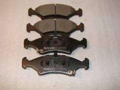 Колодки тормозные передние MPK05