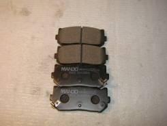 Колодки тормозные задние MPK08