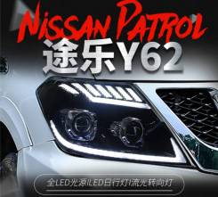 Фары (Тюнинг Комплект) Nissan Patrol (Y62) 2010-2019