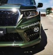 Бампера тюнинг Elford для Toyota LAND Cruiser Prado 150 с 2017+