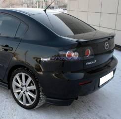 Спойлер багажника. Mazda Mazda3, BK L3VE, LF17, RF7J, Y601, Z6, ZJVE. Под заказ