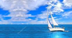 Аренда парусной яхты. 6 человек, 15км/ч