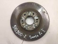 Диск тормозной передний вентилируемый [517121U000] для Hyundai Santa Fe II [арт. 512900-2]