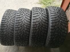 Dunlop Grandtrek Ice02. зимние, шипованные, б/у, износ 10%