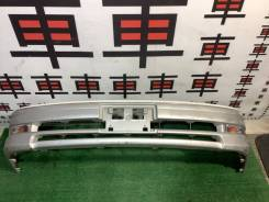 Бампер передний Toyota Mark2 100 цвет 2CF рестайл #z дефект