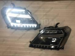 Фары Nissan Patrol Y62 Патрол 2010-2018 Новый дизайн VK56VD